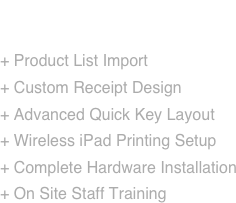 Vend Point of Sale Setup: